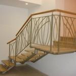 מדרגות קורה ישרה, ניר צבי